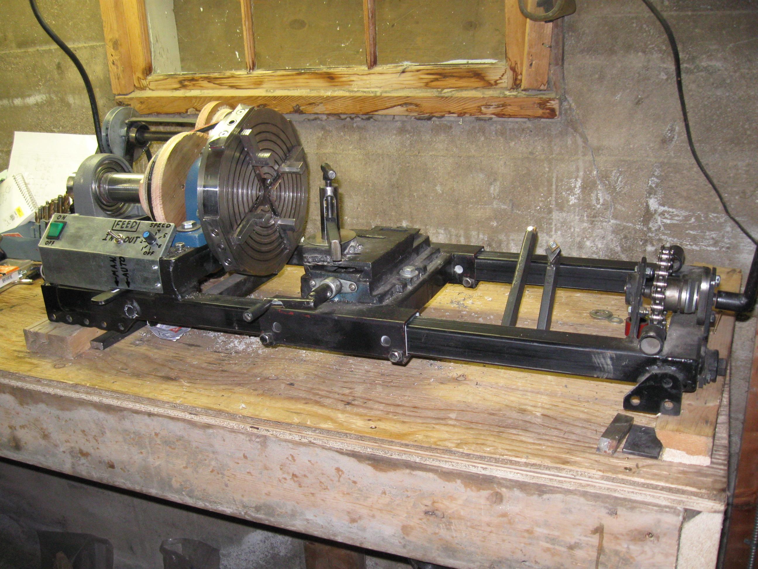 Homemade Lathe Metal Plans Homemade Ftempo